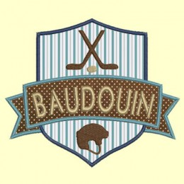 blason Rugby - 2 tailles