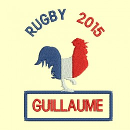 Rugby 2015, 2 versions - 4 tailles