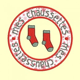 macaron Rond chaussettes - 3 tailles
