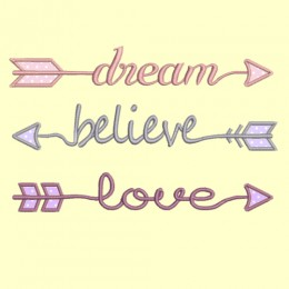 fleches dream believe love