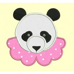 Panda col claudine - 2 versions en 2 tailles chacune