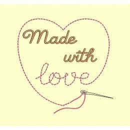Made with love - 3 tailles